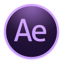 128x128px size png icon of Adobe AfterEffects