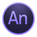 128x128px size png icon of Adobe Edge Animate