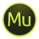 128x128px size png icon of Adobe Muse