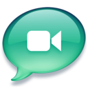 iChat zeegroen Icon