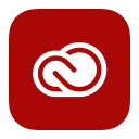 128x128px size png icon of MetroUI Apps Adobe Creative Cloud