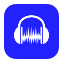 128x128px size png icon of MetroUI Apps Audacity