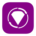 128x128px size png icon of MetroUI Apps BeJeweled Twist