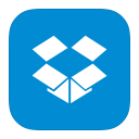 128x128px size png icon of MetroUI Apps Dropbox