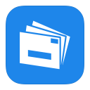128x128px size png icon of MetroUI Apps Live Mail