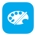 128x128px size png icon of MetroUI Apps Paint