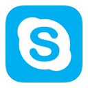 128x128px size png icon of MetroUI Apps Skype