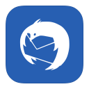128x128px size png icon of MetroUI Apps Thunderbird