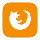 128x128px size png icon of MetroUI Browser Firefox