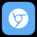 128x128px size png icon of MetroUI Browser Google Chromium Alt
