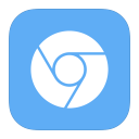 128x128px size png icon of MetroUI Browser Google Chromium