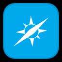 128x128px size png icon of MetroUI Browser Safari