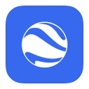128x128px size png icon of MetroUI Google Earth