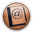 128x128px size png icon of addressbook