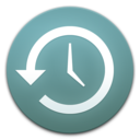 Time Machine (shaped) Icon