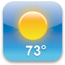 128x128px size png icon of Weather