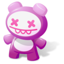 128x128px size png icon of Lilas toy