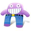 Grape Pants Icon
