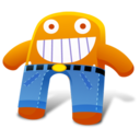 Orange Pants Icon