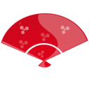 128x128px size png icon of Fan red