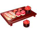 128x128px size png icon of Sushi