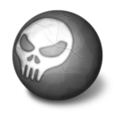 128x128px size png icon of Orbz death