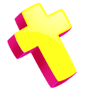 128x128px size png icon of Cross