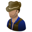 128x128px size png icon of Cowboy
