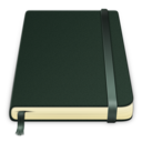 128x128px size png icon of moleskine Pure