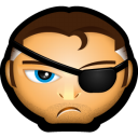 128x128px size png icon of Avengers Nick Fury