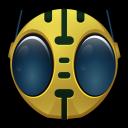 128x128px size png icon of Bioman Avatar 6 Peebo