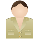 128x128px size png icon of Guardia civil no uniform