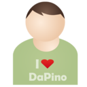 128x128px size png icon of I love DaPino