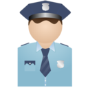 Policeman no uniform Icon