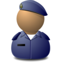 128x128px size png icon of Elite Captain Blue