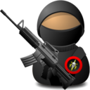 Soldier with M4A1 Carbine Icon