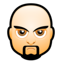 128x128px size png icon of Male Face I3