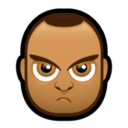 128x128px size png icon of Male Face J4