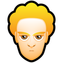 128x128px size png icon of Male Face L1