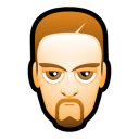 128x128px size png icon of Male Face L2