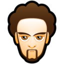 128x128px size png icon of Male Face L3