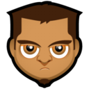 128x128px size png icon of Male Face O5