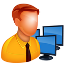 128x128px size png icon of Admin