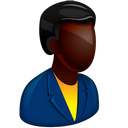 128x128px size png icon of African Boss