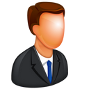 128x128px size png icon of Caucasian Boss