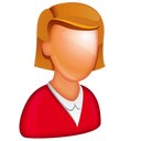 128x128px size png icon of Caucasian Female Boss