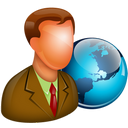 128x128px size png icon of Global Manager