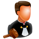 128x128px size png icon of Judge