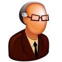 128x128px size png icon of Old Boss