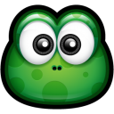 128x128px size png icon of Green Monster 1